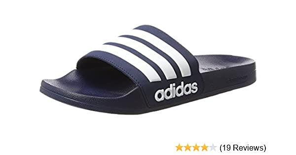 99389cbfc adidas Men s Adilette Shower Beach   Pool Shoes  Amazon.co.uk ...
