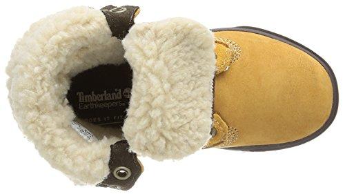 Timberland Ek Deering Fold Down Unisex-Kinder Sneaker Braun (Wheat with Brown)