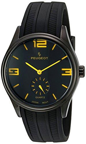 peugeot-2042ybk-reloj-para-hombres-correa-de-goma-color-negro