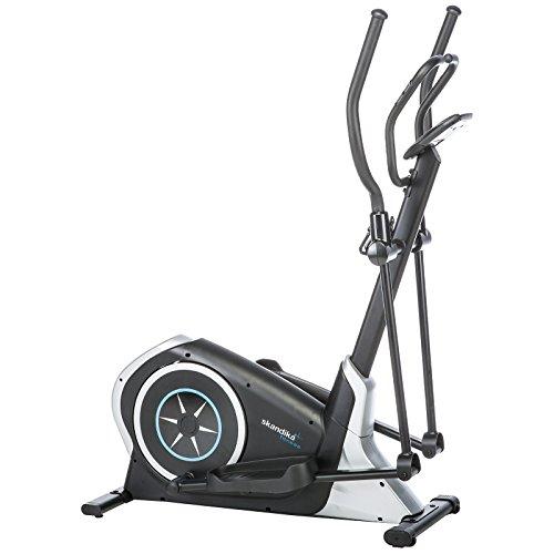 skandika CardioCross Pegasos Crosstrainer mit 12 Trainingsprogrammen, Magnet-Bremssystem, 12 kg Schwungmasse, Niveauregulierung, bis 150 kg belastbar