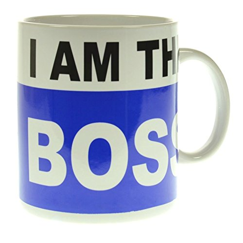 I am the Boss XXL Kaffeebecher - Kaffeetasse Tasse XXL Becher