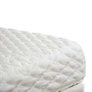 Duvalay Matelas double à mémoire de forme Qualité supérieure Blanc 190x122x20cm