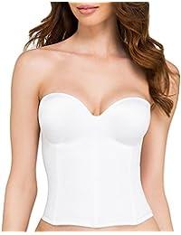 926e655c40 ... Backless Longline Bra White Nude Basque Corset Style 8541 BRIDAL  LINGERIE UNDERWEAR Wedding · £32.26 - £66.71. 3.6 out of 5 stars 161 ·  Dominique Ariel ...