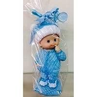Figura bautizo niño bebé gorrito tarta GRABADA figuras PERSONALIZADA para pastel