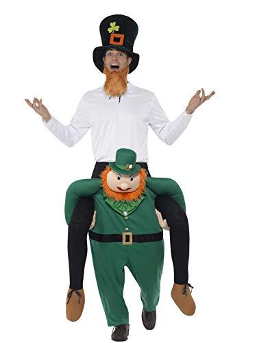 SMIFFY 'S 49670Piggyback Paddy 's Leprechaun Kostüm, grün, One Size