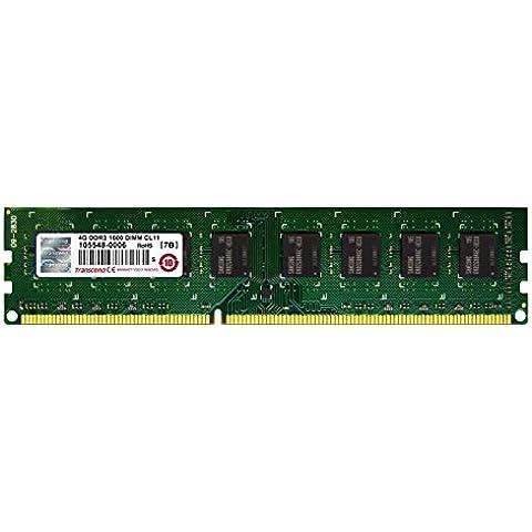 Transcend JetRAM - Memoria de 4 GB DDR3, DIMM de 240-pin