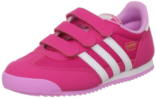 adidas Originals - Dragon Cf C, Scarpe da ginnastica Unisex - Bambini Rose (Bright Pink F12/White Ftw)