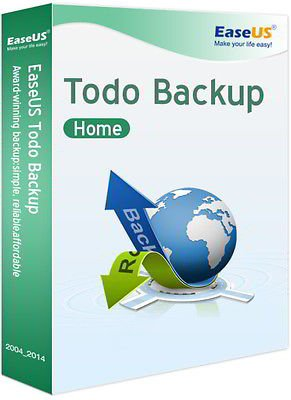 EaseUS Todo Backup Home WIN (Product Keycard ohne Datenträger)- Lifetime Lizenz