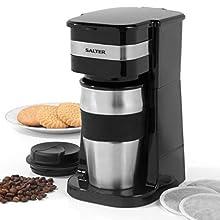 Salter EK2408 Coffee Maker to Go Personal Filter Coffee Machine