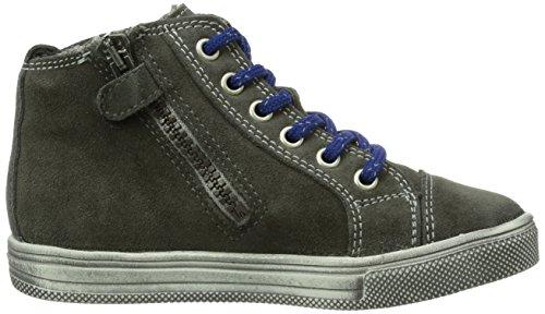Richter Kinderschuhe Ola, Sneaker bambini Grigio (Grau (pebble/cobolt   6611))