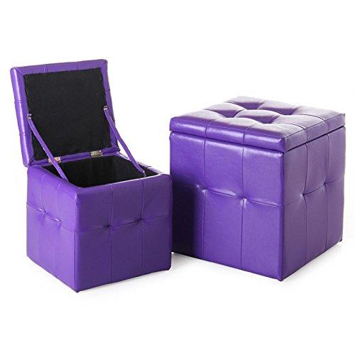 puff-arcon-leatherette-violet-grande