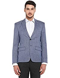 Park Avenue Men's Notch Lapel Loose Fit Blazer
