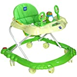 Mee Mee Simple Steps Baby Walker, Green