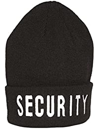 Rollstrickmütze Security