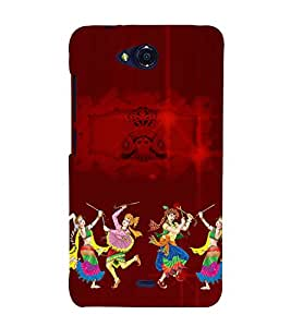Durgamma 3D Hard Polycarbonate Designer Back Case Cover for Micromax Canvas Play Q355