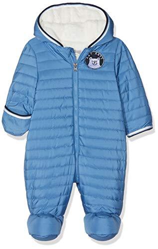 Sanetta Baby-Jungen Outdooroverall Schneeanzug, Blau (Midblue 5760.0), 68