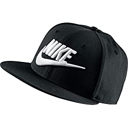 Nike Limitless True - Gorra unisex, color negro / blanco, talla única