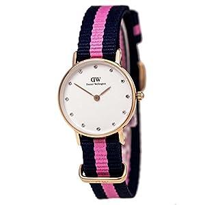 Daniel Wellington 0906DW - Reloj de cuarzo para mujer, con correa de nailon, color multicolor de Daniel Wellington