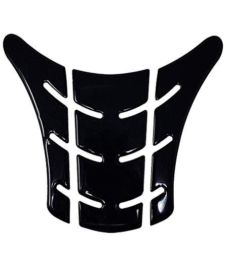 Protection Réservoir Adhésive 3D pour Motos Type Originel Ducati Monster Vieux, Noir, 17,5 x 20 cm