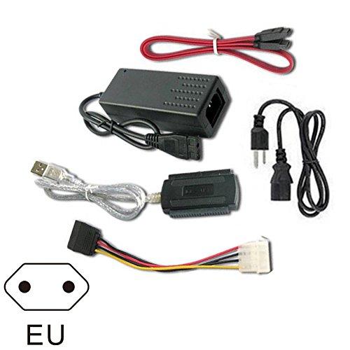 SATA S-ATA 2.5 3.5 Festplattenlaufwerk HD HDD Konverter Adapterkabel (Usb-kabel, Ide-schnittstelle)