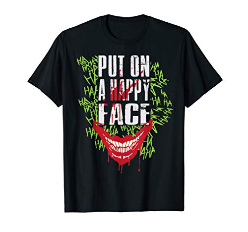 Joker Card Player Happy Face Movie Fan Tops & Tees Gift - Happy Face Tee