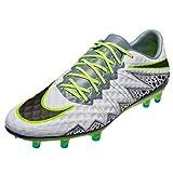 Nike Hypervenom Phinish fg, Scarpe da Calcio Uomo, Plateado (Pure Platinum/Black-Ghost Green), 41 EU