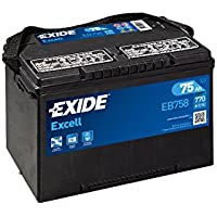 Exide - Car battery EB758 12V 75Ah 770A preiswert