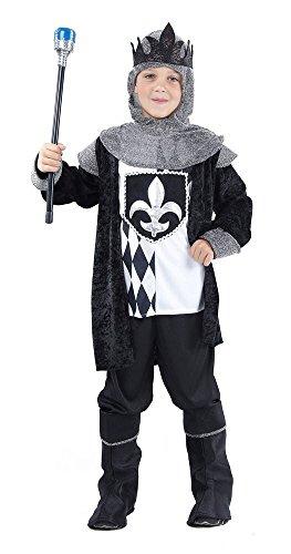 Prezer Schach König schwarz Kinderkostüm