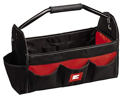 Einhell Bag 45/22 Werkzeugtasche, Universal-Tasche für Werkzeug und Zubehör, robustes Material und verstärkter Boden, stabiler Tragegriff mit Softgrip, verschiedene Fächer und Taschen