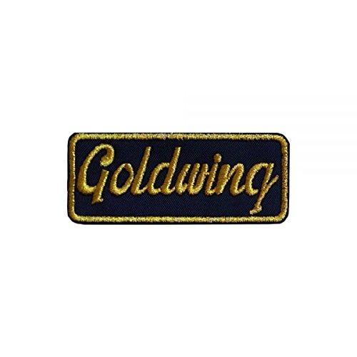 PARCHE GOLDWING BOLD M - 9 x 4 cm - High Quality