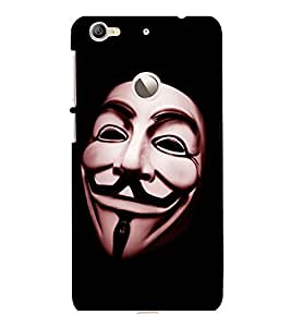 printtech Anonymous Mask Back Case Cover for LeEco Le 1s