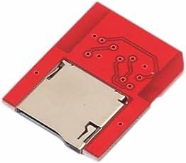 Newest SD2VITA PSVSD Micro SD Adapter for PS Vita Henkaku 3.60 Support All SD Card (Red)