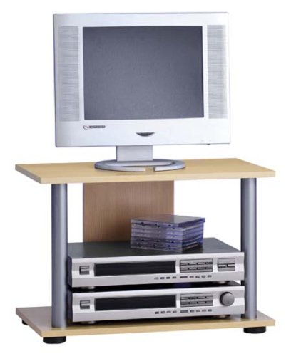 FMD 216-002 TV/HiFi Regal Ernie 2 – B/H/T: 59.0 x 40.5 x 33.5 cm, Buche