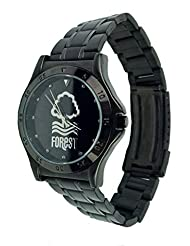 Officiel Nottingham Forest Bracelet en acier inoxydable–Montre Homme