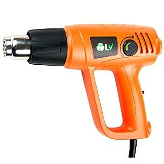 T-LoVendo VPHG1023TLV Decapador termico pistola aire caliente, Naranja