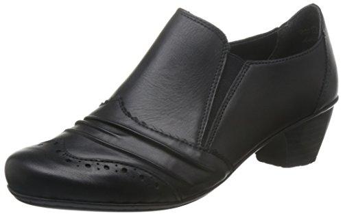 Rieker - 41730, Chaussures Femme À Talons Noir