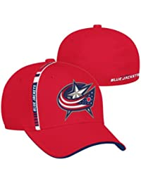 Reebok Columbus Blue Jackets Draft Spin Stretch Fit NHL Cap