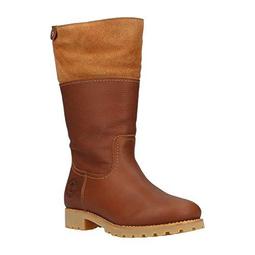 PANAMA JACK Damen Winterstiefel Belinda Igloo,Frauen Winter-Boots,Fellboots,Lammfellstiefel,Fellstiefel,gefüttert,warm,Lederfarben,EU 39 -