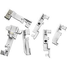 Cutowin - Juego de 6 Piezas de prensatelas de serger para Singer 14CG754 14SH654