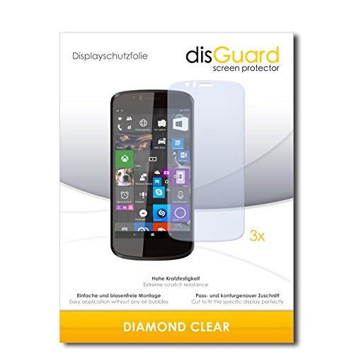 3 x disGuard® Schutzfolie Archos 50 Cesium Bildschirmschutz Folie