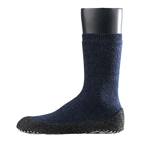 Falke Cosyshoe - Chaussettes - Homme dark blue melange-6680