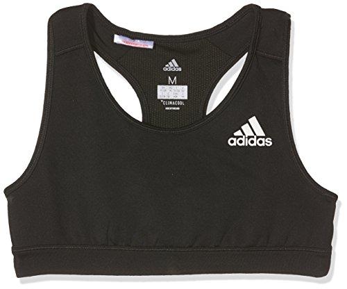 adidas Mädchen Traiining Sport-Bh, Black, 152 (Climacool Unterwäsche)