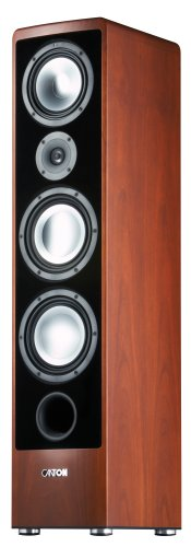 Canton-Ergo-690-DC-3-Way-Bass-Reflex-Speaker-Stands-170320-Watts-Bi-WiringBi-Amping-with-Plug-and-Play--Black