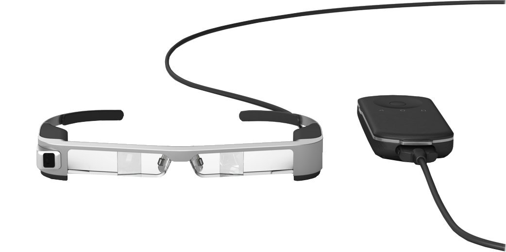 41hq7AKHDjL - Epson Moverio BT-300 - Augmented Reality Glasses with an OLED Display