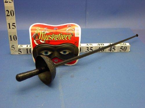 Unbekannt GIPLAM 63x 19cm Folie Schwert mit Maske -