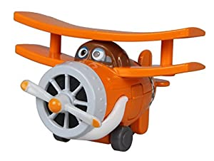 Alpha Animation & Toys Super Wings Die-Cast Grand Albert Metal vehículo de Juguete - vehículos de Juguete (Metal, Naranja, Color Blanco, 4 año(s), 9 año(s), Niño/niña, 38 g)