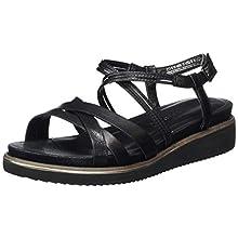 Tamaris 1-1-28207-24, Women's Ankle-Strap, Black (Black 001), 3.5 UK (36 EU)