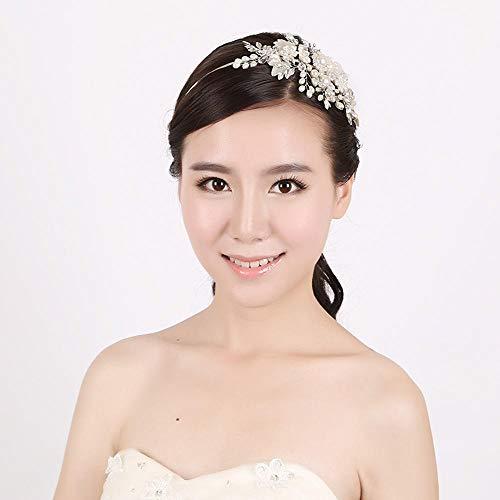 Littlefairy Braut Haarschmuck,Einfache und schöne Haar Accessoires Mode Damen Haar Hoop Set Bit Hoop
