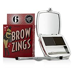 Benefit Brow Zings (Total Taming & Shaping Kit For Brows) - 6 (Deep) 4.35g/0.15oz