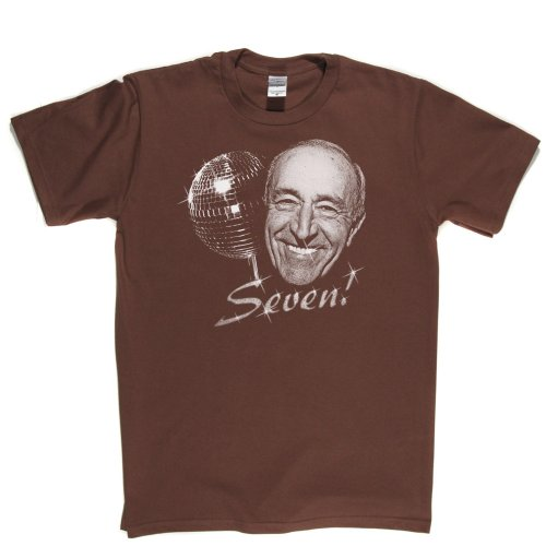 Len Goodman Strictly Dancing Ballroom Dancer TV Star T-shirt Braun